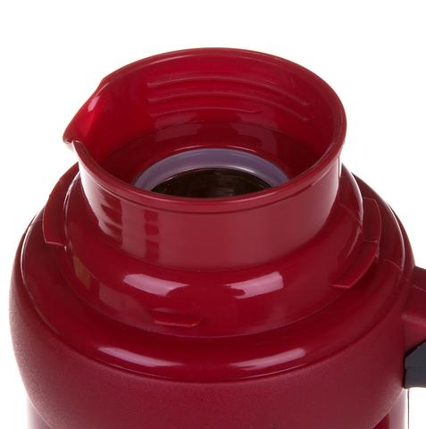 Термос LaPlaya Traditional 35-100 (1 литр) со стеклянной колбой, красный