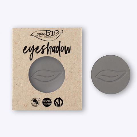 Тени для глаз PuroBio Тон 10 серый 2,5 гр РЕФИЛЛ