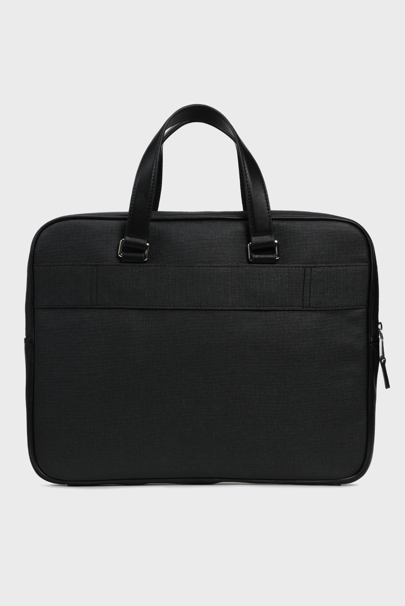 Мужская черная сумка для ноутбука COATED CANVAS SLIM COMPUTER BAG Tommy Hilfiger