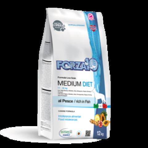 Forza10 Medium Diet Pesce из рыбы