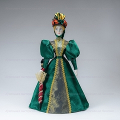 Кукла в светском костюме 90-х годов 19 века