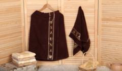 Набор килт и полотенце для сауны и бани 0019