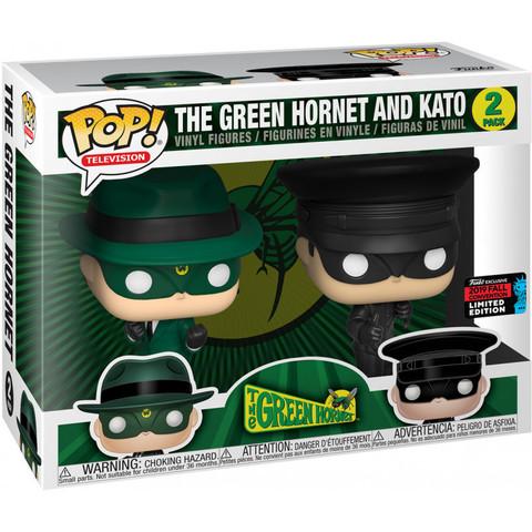 Green Hornet and Kato Funko Pop! (Exc NYC 2019)!    Зелёный Шершень и Като