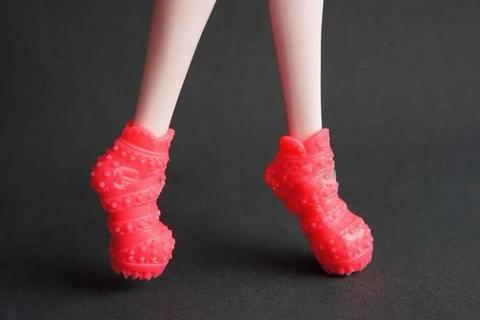 Обувь для Монстер Хай (ярко-розовые туфли)