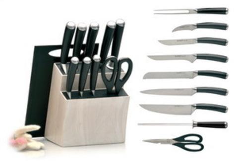 Ножи в блоке Auriga 11пр