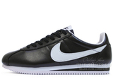 Кроссовки Мужские Nike Cortez New Collection All Black White Leather