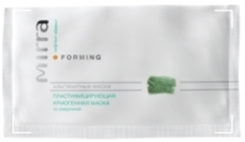 Пластифицирующая криогенная маска со спирулиной