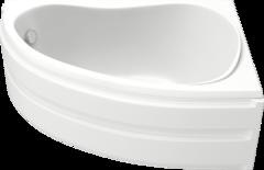 Ванна акриловая Bas Алегра 150х90х65, угловая асимметричная (правая), с каркасом