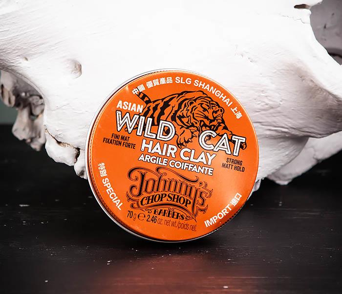 CARE101 Матовая глина Johnny's Chop Shop «WILD CAT» сильной фиксации (70 гр.)