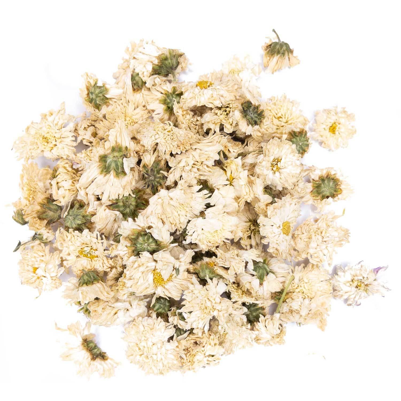 Травы и добавки Хризантема белая, цветы, Цзюй Хуа цветочный чай, 100 гр hrizantemy-teastar2.jpg