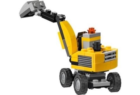 LEGO Creator: Мощный экскаватор 31014 — Power Digger — Лего Креатор Создатель