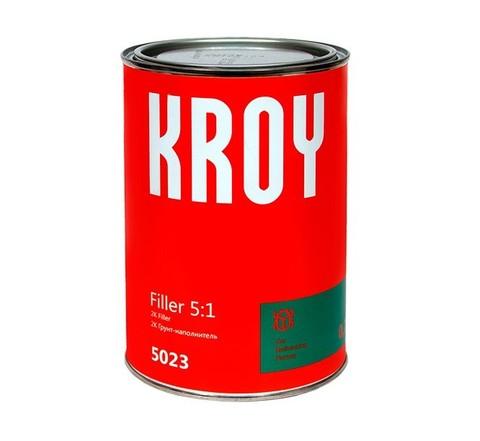 5023 KROY Filler 5:1 2К Грунт-наполн. черный 0.75 L + отверд. H512 0.15L