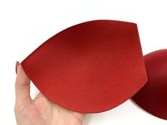 Чашки без пуш-апа темно-красные (75В-80А-70С-65D) хб/пэ
