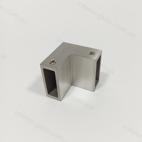 Соединитель трубы (штанги) 90° ST-305 SSS матовая нерж. сталь