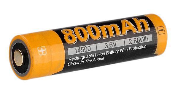 аккумулятор Fenix Li-ion 14500 800mAh