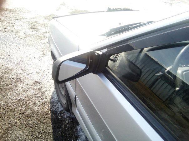 Боковые зеркала на ВАЗ 2108-09-14-15, удлиненные