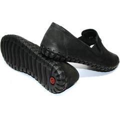Туфли мужские летние кожаные Roadman S-200 Black