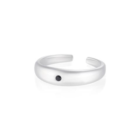 Миди-кольцо NAVOTI - Черная шпинель