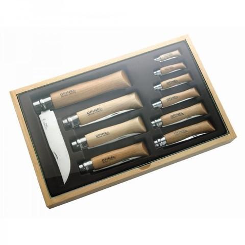 Набор Opinel  (OP-001314) из 10 ножей разных размеров
