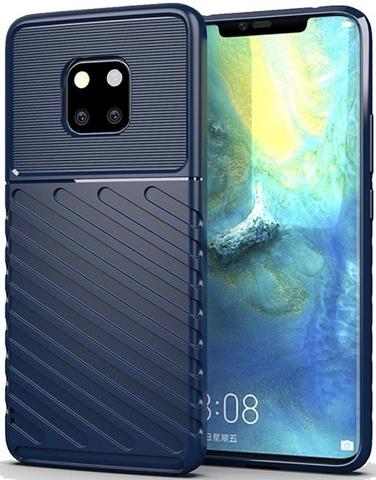 Чехол Huawei Mate 20 Pro (Mate20 RS) цвет Blue (синий), серия Onyx, Caseport