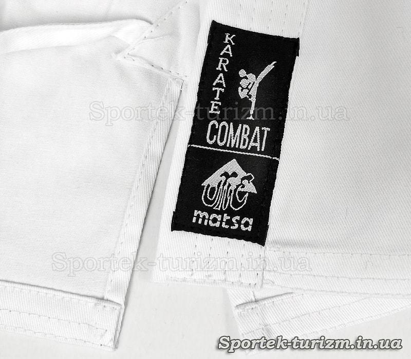 Кімоно COMBAT для карате (100% бавовна, білий)