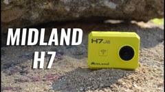 Водонепроницаемая экшн-камера Midland H7
