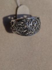 Антика узкое (кольцо из серебра)