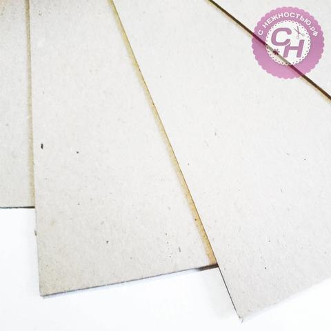 Картон пивной, основа для альбома, 1,5 мм, А3, 30*42 см, 1 лист.