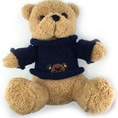 Teddy Bear Blue Sweater Plush