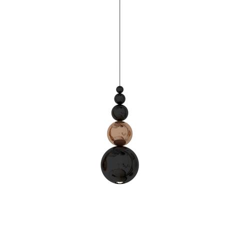 Подвесной светильник копия Bubble by Innermost (бронзовый/черный)