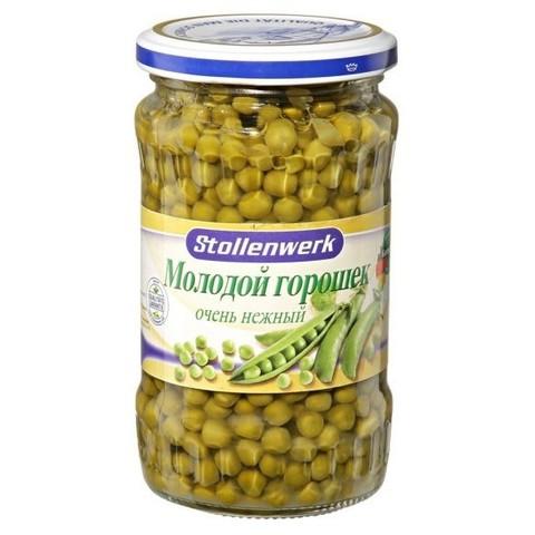 Горошек молодой деликатесный Stollenwerk, 370мл