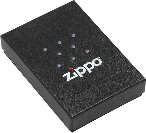 Зажигалка Zippo Vintage Box Top с покрытием High Polish Brass, латунь/сталь, золотистая, глянцевая123