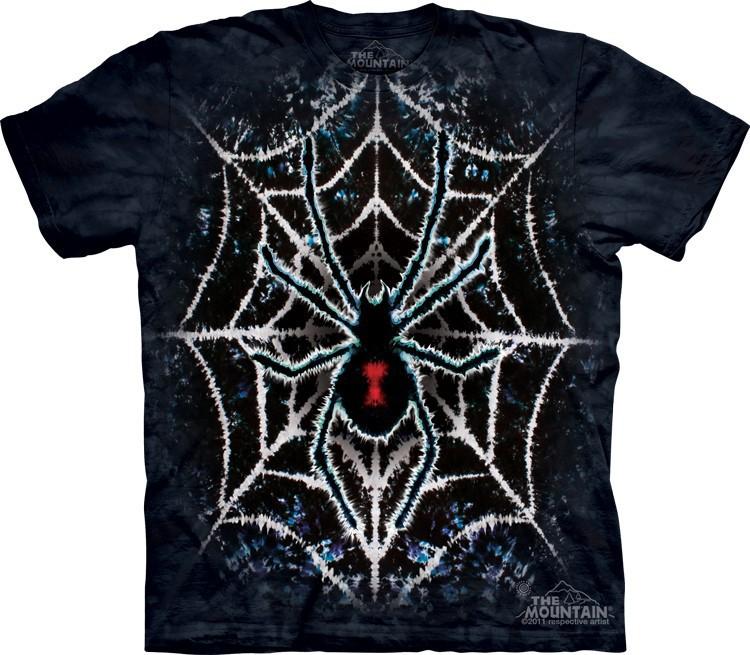 Футболка Mountain с изображением паука - Tie-Dye Spider