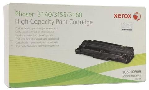 Оригинальный картридж Xerox 108R00909 черный
