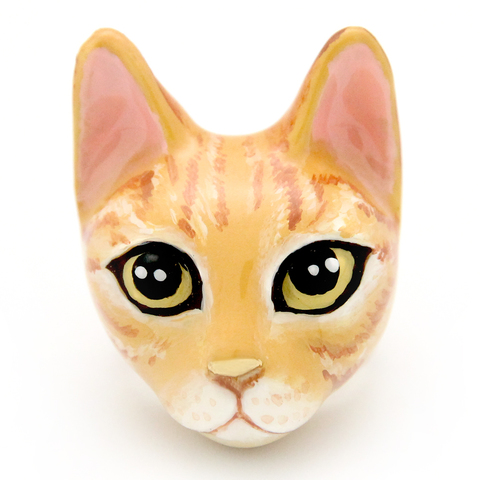 Кольцо Кошка Шампу
