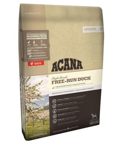 Acana Free-Run Duck корм для собак (утка) 340 г