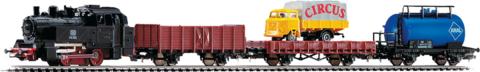 PIKO 57111 Стартовый набор игрушечной железной дороги «Грузовой поезд», 1:87