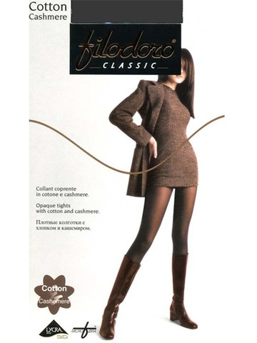 Женские колготки Cotton Cashmere Filodoro