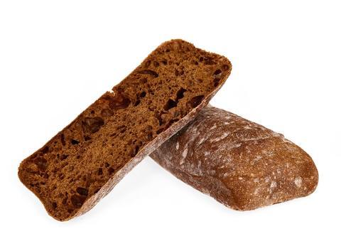 Хлеб Чиабатта ржаная, 230 гр.(вл.25)