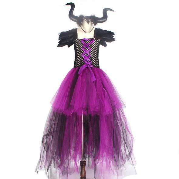 Малефисента платье пачка черное