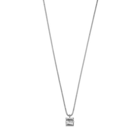 Колье Coeur de Lion 4967/10-1700 цвет серебряный