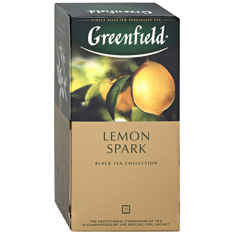 Чай Greenfield Lemon Spark черный