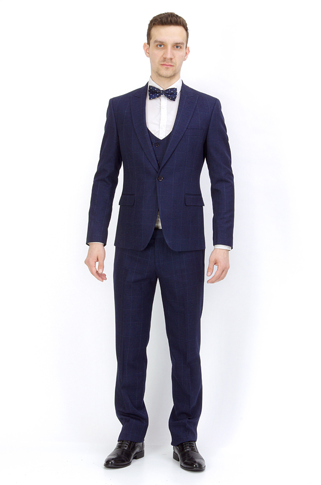 Костюмы Slim Fit ANTONIO ROSSI / Костюм-тройка slim fit IMGP8887.jpg