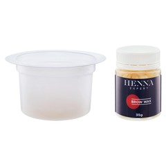Съемные чаши для воска Henna Expert