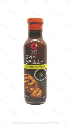 Корейский соус для мяса с ананасом и яблоком, Classic Tonkatsu Sauce, 400 гр.