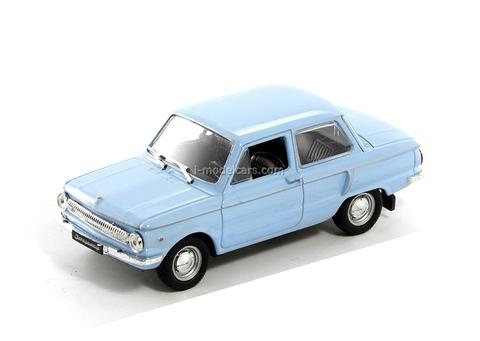 ZAZ-966 Zaporozhets blue 1:43 DeAgostini Auto Legends USSR #36