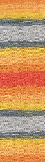 Пряжа Alize Cotton Gold Batik оранж-кор 5508