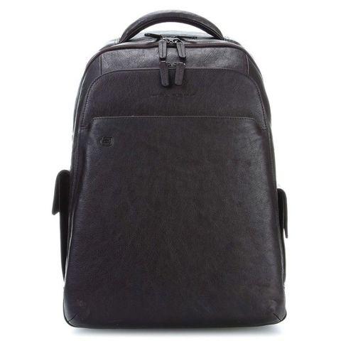 Рюкзак мужской Piquadro Black Square (CA3444B3BM/N) черный кожа