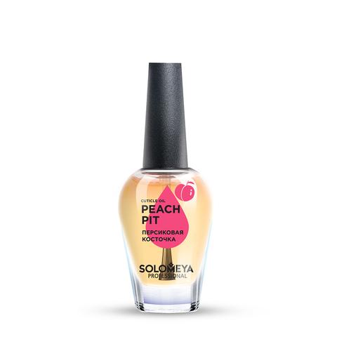 SOLOMEYA | Масло для кутикулы и ногтей с витаминами «Персиковая косточка» / Cuticle Oil