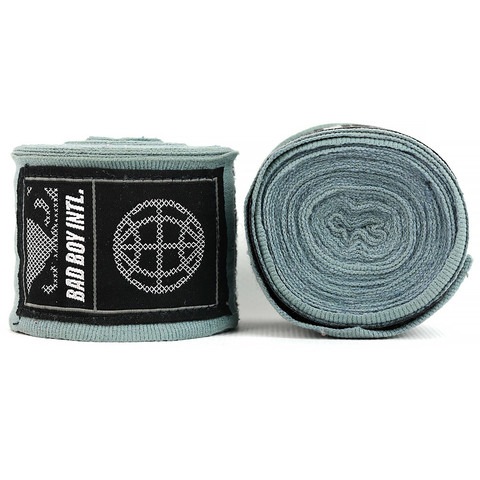 Бинты Bad Boy Combat Premium Hand Wraps Grey 5m